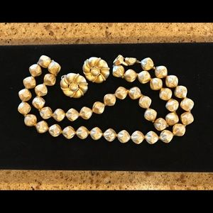 Vintage Trifari Necklace and Earrings